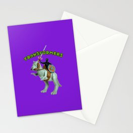 Because Action Figures Stationery Cards