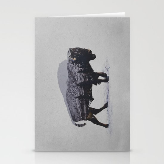 The American Bison Stationery Cards