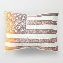 Flag U.S. American United States Sun Sunshine Pillow Sham