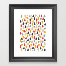Ra'in Color Framed Art Print
