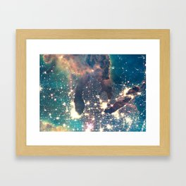 Intergalactic Framed Art Print
