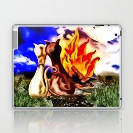 Romanze am Lagerfeuer Laptop & iPad Skin
