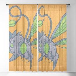 HUMM-BUZZ Sheer Curtain