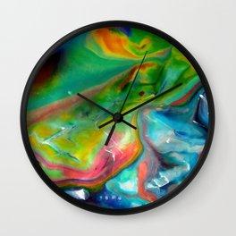 Spring abstraction Wall Clock