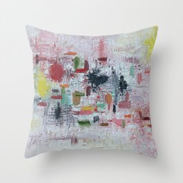 Tourette Throw Pillow