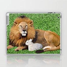 Lion and Lamb Laptop & iPad Skin