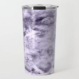 Lavender Gray Carina nEbULa Travel Mug