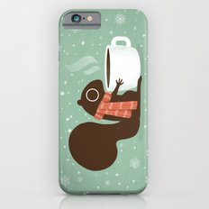 Squirrel Coffee Lover Holiday  iPhone 6s Slim Case