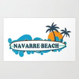 Navarre Beach - Florida. Art Print