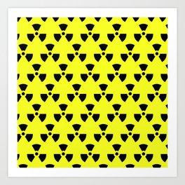 Radiation Pattern Art Print