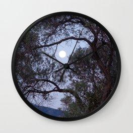 Olive Moon Wall Clock