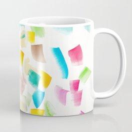 180719 Koh-I-Noor Watercolour Abstract 42| Watercolor Brush Strokes Coffee Mug