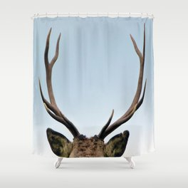 Stag antlers Shower Curtain