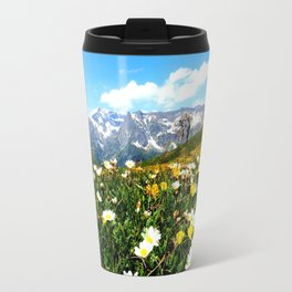 Summer in the Alps Travel Mug