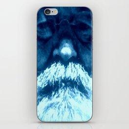 Sure Feels Like The Blues iPhone Skin