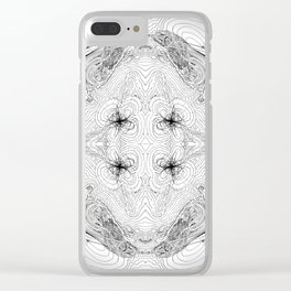 Orbital Theory: S.P.D.F... Clear iPhone Case