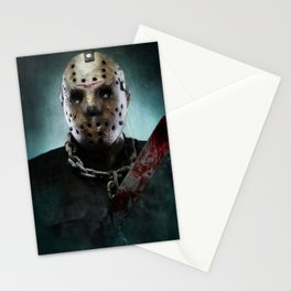 Jason Voorhees Stationery Cards