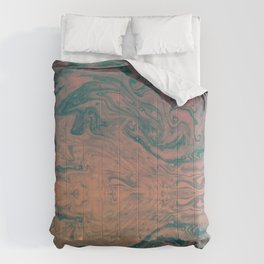 Pink Neon Marble - Earth Gum #nature #planet #marble Comforters