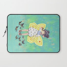 Butterfly Girl Laptop Sleeve