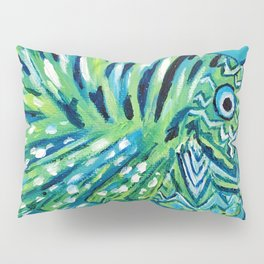 Lion Fish 1, a pretty predator Pillow Sham