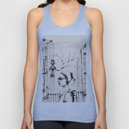 Sunday Morning Unisex Tank Top