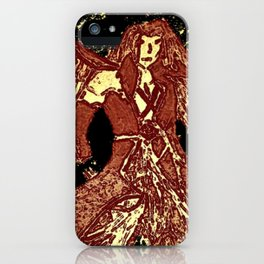 one winged angel iPhone Case