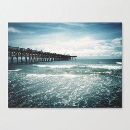 Third Avenue Shark Pier  Canvas Print