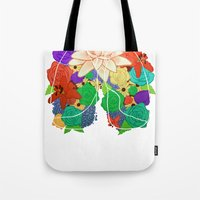 lungs Tote Bags featuring lungs by Taylor {GANGST★R}