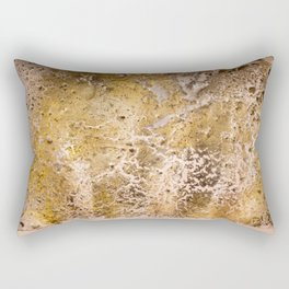 Gold confidence Rectangular Pillow