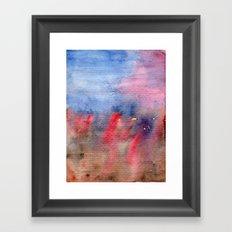 vague memory Framed Art Print