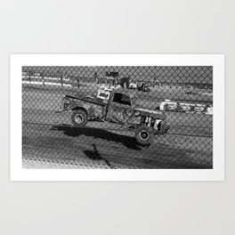 Vintage Speed Art Print