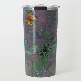 Rainbow Butterfly Pour Travel Mug