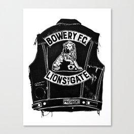 Bowery F.C. Canvas Print