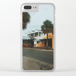 Greene Street, Key West Clear iPhone Case