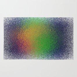 sprayed color Rug