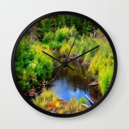 Lonesome Creek Wall Clock