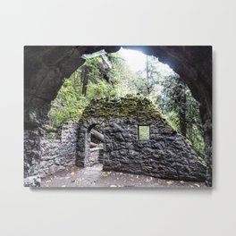 Forest House Metal Print