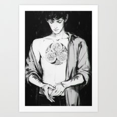 BBC Merlin: In Spite of Everything, the Stars (Merlin) Art Print