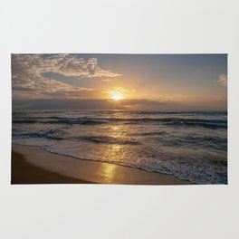 maui sunset Rug