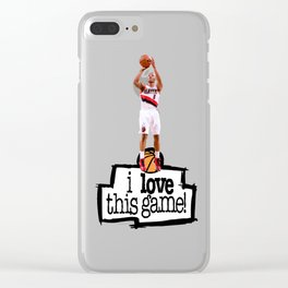 Damian Lillard Clear iPhone Case