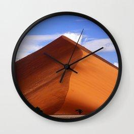 The Dune - Namib desert, Namibia Wall Clock