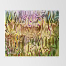 Abstracto Cientico Throw Blanket