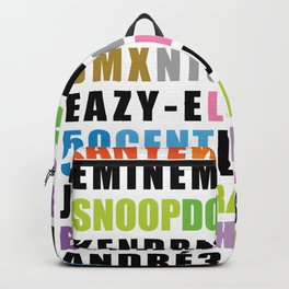 Greatest Rappers Backpack
