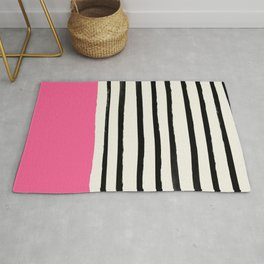 Watermelon & Stripes Rug