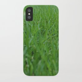 Summer Grass iPhone Case