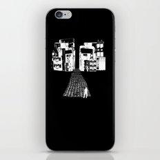 Dead Sound City (White on Black) iPhone & iPod Skin