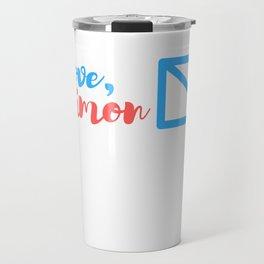 love simon Travel Mug