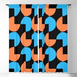 Mid Century Modern Geometric Pattern 808 Blackout Curtain