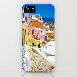 Santorini iPhone Case