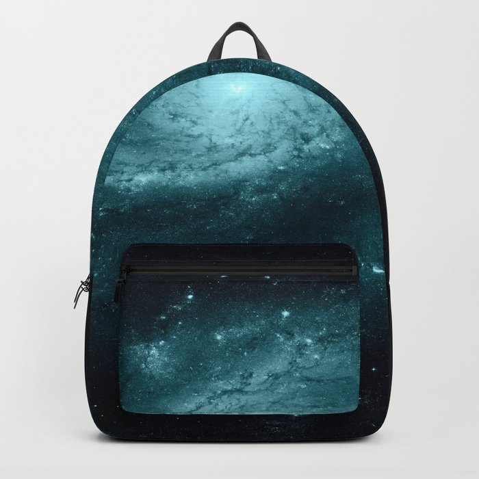 Spiral gALAxy Teal Backpack